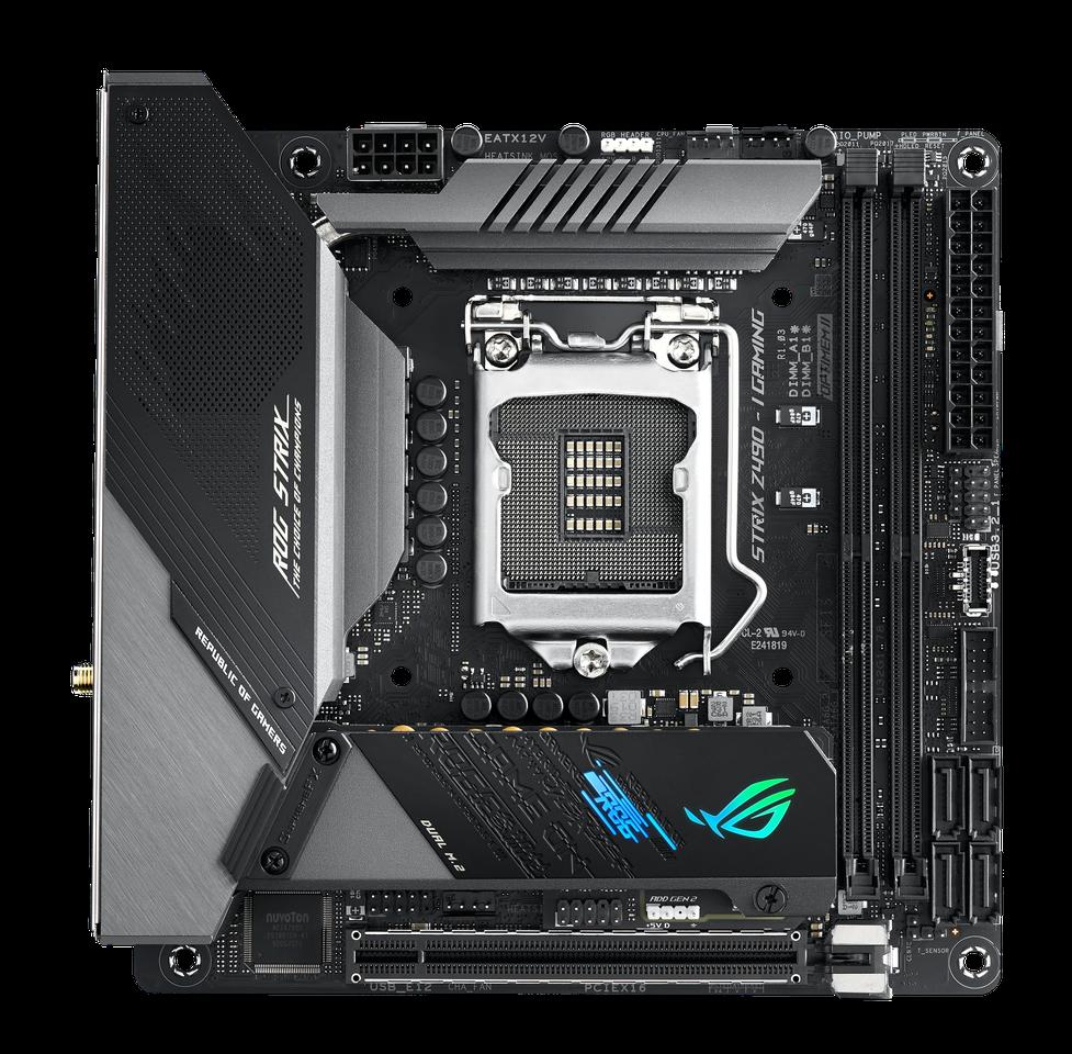 Carte mère ROG Strix Z490-I Gaming Asus