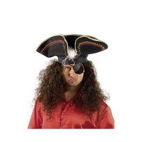 Marque Generique - Chapeau tricorne de pirate adulte