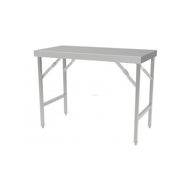Combisteel Table Inox Pliante - Gamme 700 inox 1200x700 700