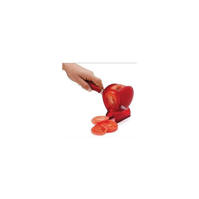 Alpexe Ustensile pour trancher parfaitement droit les fruit et legumes tomate patate concombre etc