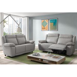 canap relax 2 places en cuir apollo. Black Bedroom Furniture Sets. Home Design Ideas