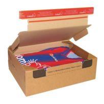 - Boite postale carton modèle expédition et retour 28,2 x 19,1 x 9 cm - Lot de 10