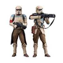Kotobukiya - Star Wars Rogue One - Pack 2 statuettes Artfx+ Scarif Stormtrooper 18 cm