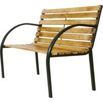 Cross Outdoor - Banc de jardin bois acier