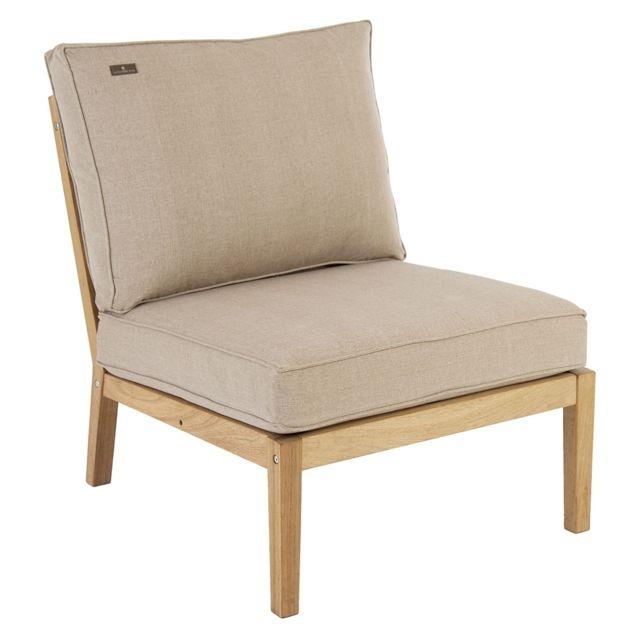 Alexander Rose Module de canapé du milieu Lounge Roble - beige clair