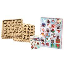 Calendrier Avent Kinder 2020.Moule A Chocolat Calendrier De L Avent 25 741 63 0060