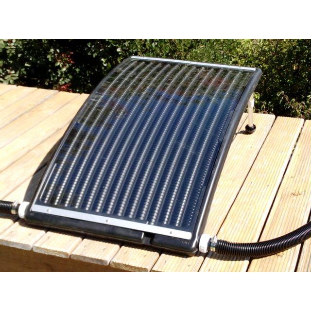 Loisirs net panneau solaire modulosol avec kit by pass pour piscine jusqu 39 25m3 pas cher - Chauffage electrique pour piscine ...