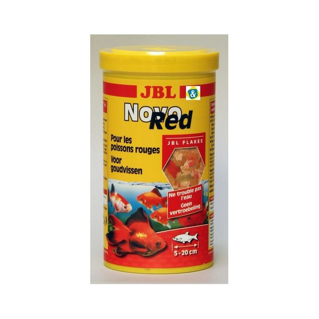 Jbl Nourriture poissons d'eau froide Novored 1L
