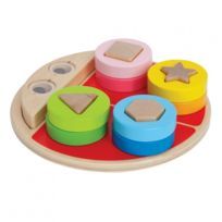 Autre - Jeu d'imitation enfant jeux jouets Jeu d'éveil Coccinelle trieuse de formes 0102043