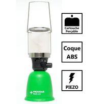 Providus - Lampe à gaz avec coque Abs pour cartouche de gaz 190g perçable - Piezo