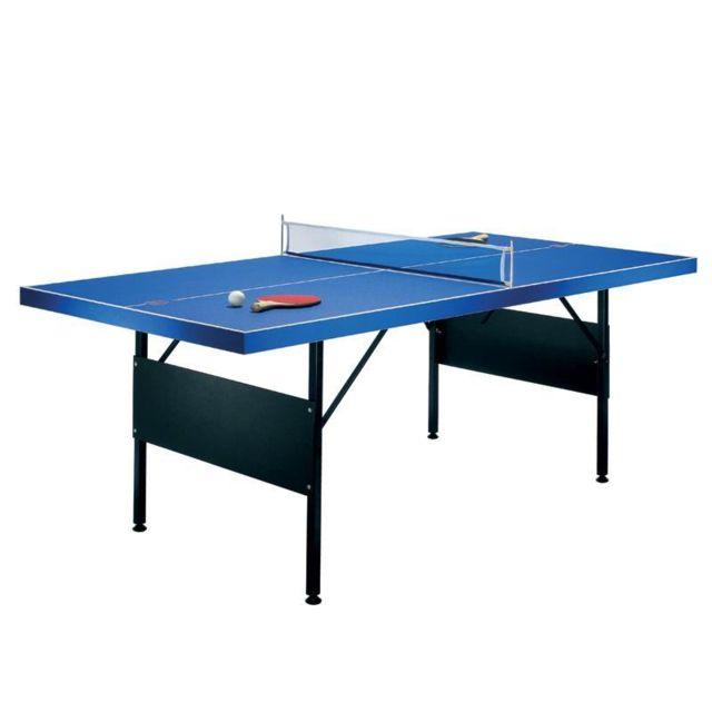 Riley Table De Ping Pong Pliable 183x71x91cm 2 Raquettes Pas