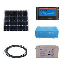 Myshop-solaire - Kit solaire 30w autonome + convertisseur 230v