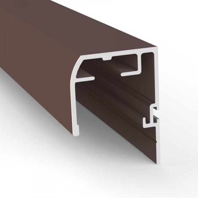 empasa store pare soleil fen tre de toit pliss alu l110 x h160 cm couleur marron pas. Black Bedroom Furniture Sets. Home Design Ideas