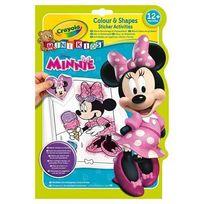 Crayola Mini Kids - Minnie - Album coloriage et autocollants Minnie