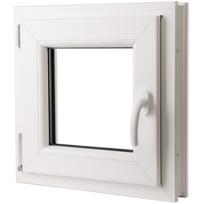 Rocambolesk - Superbe Fenêtre oscillo-battant en Pvc Poignée sur la droite 500 x 500 mm Neuf