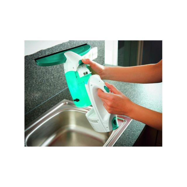 Leifheit - 51002 Nettoyeur a vitre Dry & clean avec mouilleur