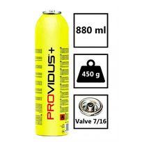 Providus - Bouteille de gaz 450g-Cartouche Gasex- mélange gaz propane haute performance -brevet Tuv-chalumeau gaz