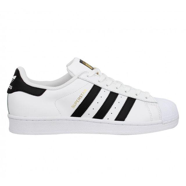 adidas superstar noir et blanche femme