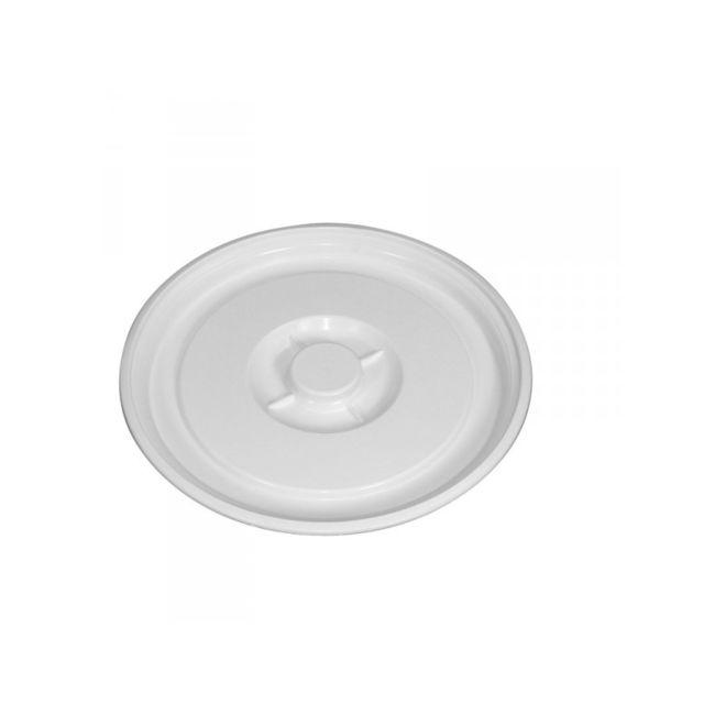 Gilac Couvercle Pour Baquet 35 Litres Blanc