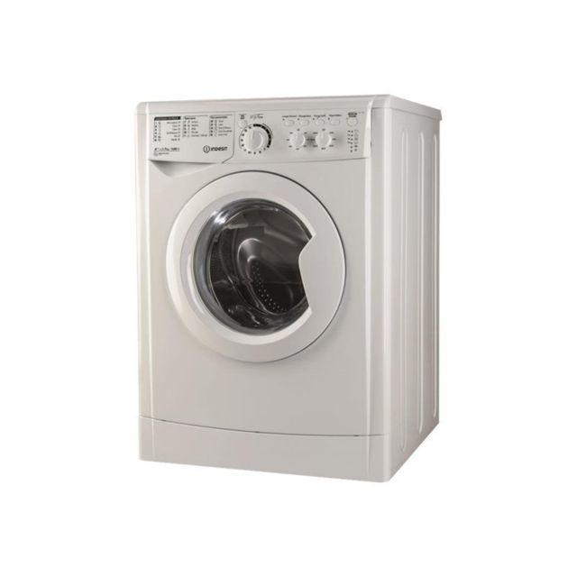 Indesit Lave-linge - EWC71452WFRM - Blanc
