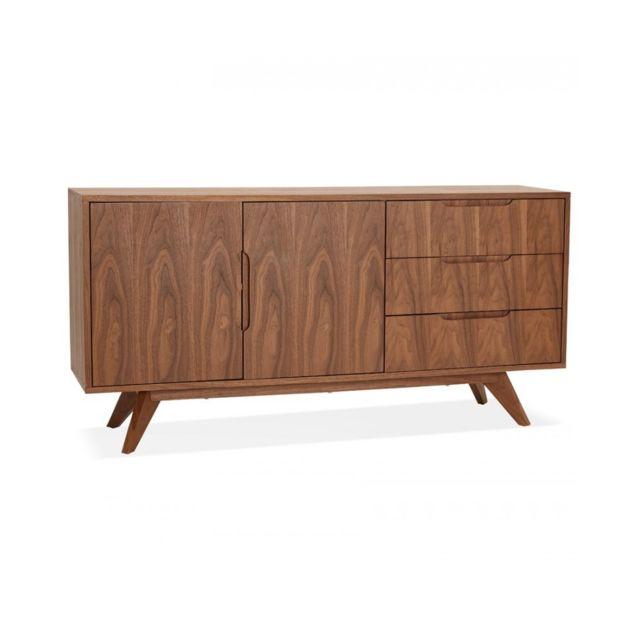Kokoon Design Bahut Traa Walnut 40x150x75 cm