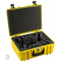 B&W International - Valise 3DR Solo jaune B&W 6000/B