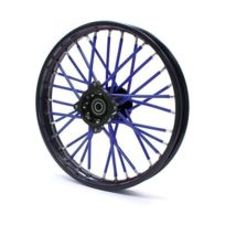 Pitrider - Couvre rayon Bleu - Spoke Skins - Dirt bike / Pit bike / Mini Moto
