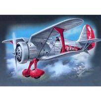 Icm - Maquette avion : Chasseur Biplan soviétique Polikarpov I-5 1936