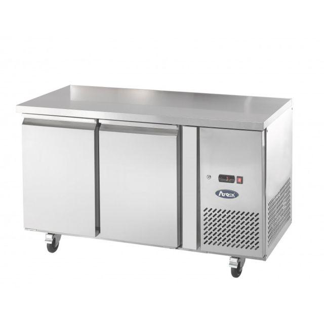 ATOSA Table Négative Tropicalisé - 280 Litres - Inox 2 Portes 700