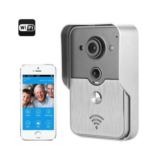 sonnette sans fil avec camera - achat sonnette sans fil avec