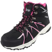 Alpes Vertigo - Chaussures marche randonnées Nubb noir/rose lady Noir 79702