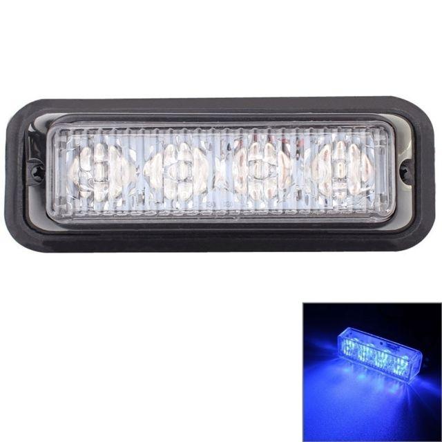 480nm 440 Lampe De D'avertissement Lumière 24vLongueur 720lm Clignotant Bleue Signal 4 VoitureDc12 Voiture Fil95cm Led Gyrophare 12w BeQWrCoEdx