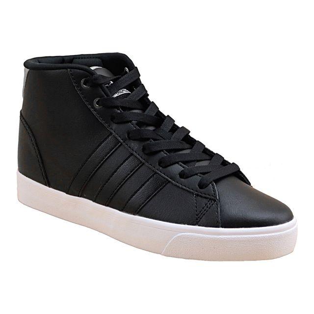 promo code 4a350 b713d Adidas - Cloudfoam Daily Qt Mid Aw4012 Noir - pas cher Achat  Vente  Baskets femme - RueDuCommerce