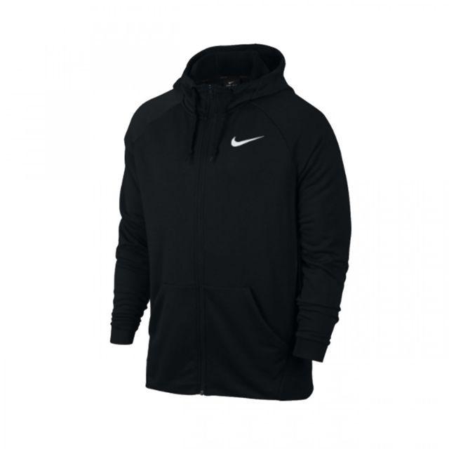 6a04d3b924 Nike - Veste de survetement Training Dri Fit Hoodie - 860465-010 - pas cher  Achat / Vente Survêtement homme - RueDuCommerce