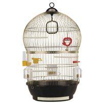 Ferplast - Cage Bali pour Oiseaux - Laiton