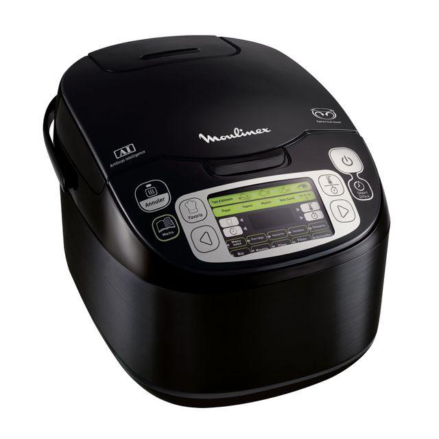 MOULINEX - Multicuiseur 43 Programmes MK815800 Noir