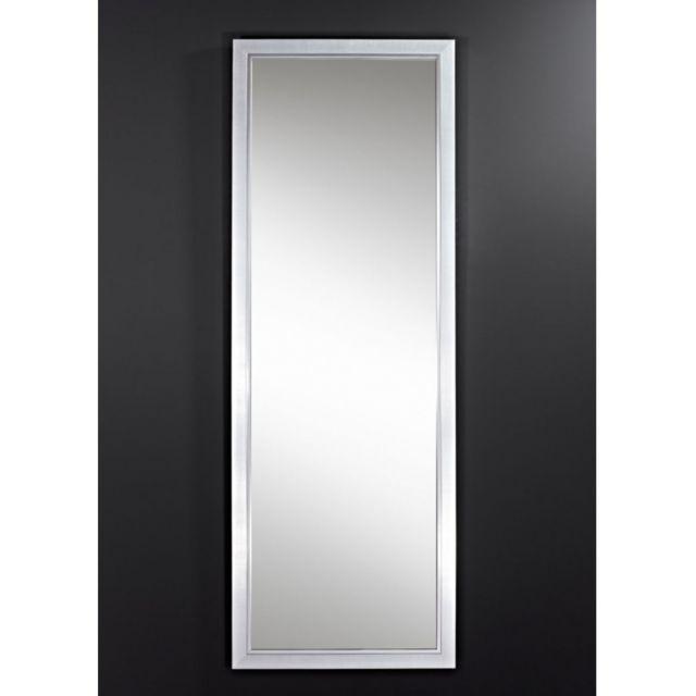 Deknudt Mirrors Miroir Bremen Hall Traditionnel Classique Rectangulaire Argenté 49x139 cm