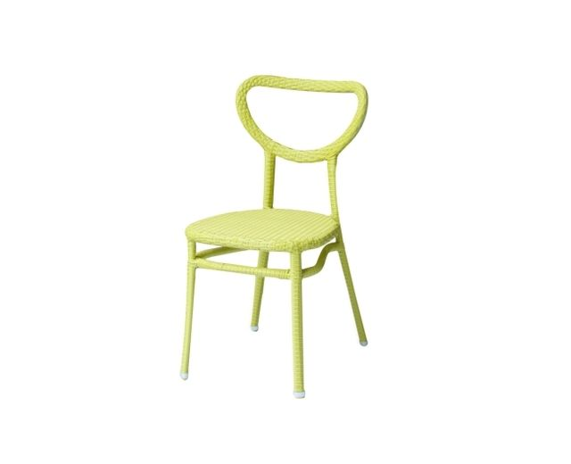 Lebrun Chaise vert anis Sperone