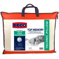 DODO - Oreiller TOP MÉMORY - 40x60cm