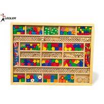 Legler - Perles en bois et accessoires, enfant