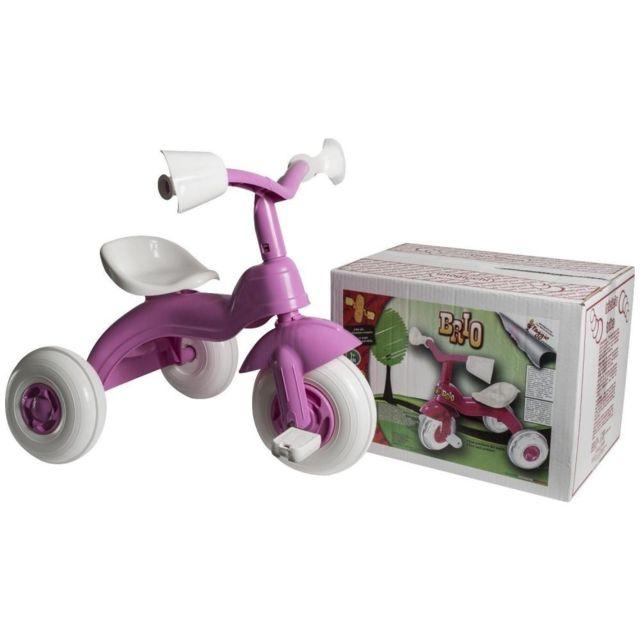 Tricycle BRIO enfant rose bébé