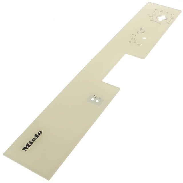 Miele Bandeau de commande blanc pour Lave-vaisselle