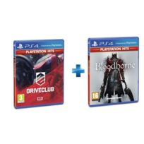 SONY - 2 jeux PS4 HITS : DRIVECLUB + BLOODBORNE