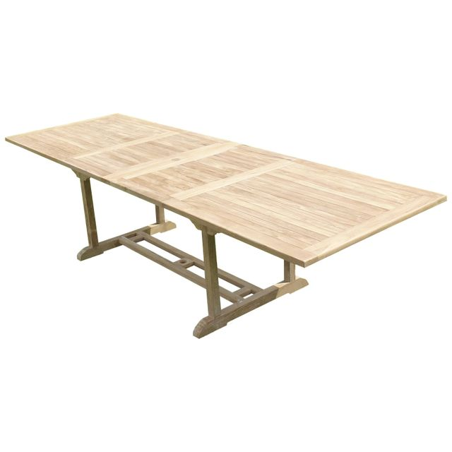 Teck'LINE Table Kirang Rectangle 200-300x100x75 Teck Premium