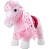 Small Foot Company - Peluche « Poney rose