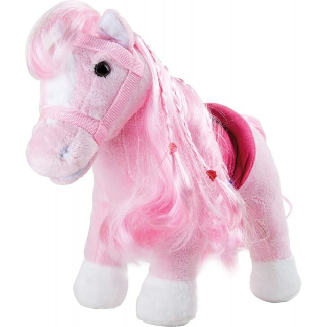 Small Foot Company Peluche « Poney rose