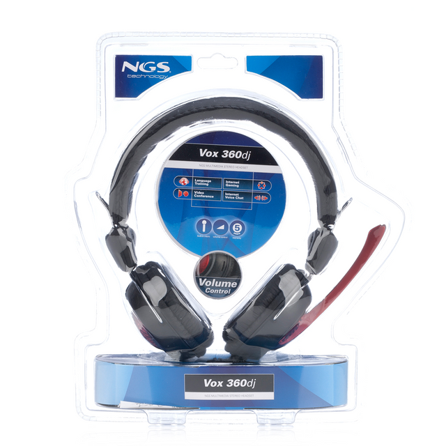 Ngs Technology - Micro casque Vox 360 dj