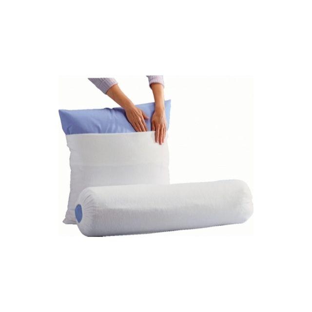 oekosom sous taie de traversin molleton skydda o ekosom 90 cm pas cher achat vente draps. Black Bedroom Furniture Sets. Home Design Ideas