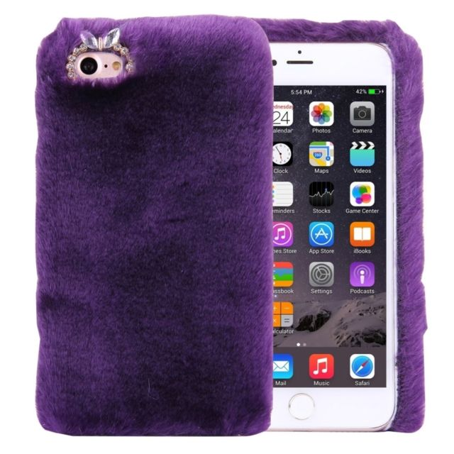 coque violette iphone 8