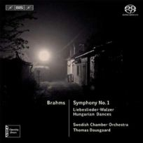 Bis - Johannes Brahms - Symphonie no. 1, Liebeslieder walzer opus 52 et 65, Danses hongroises no. 1, 3 et 10